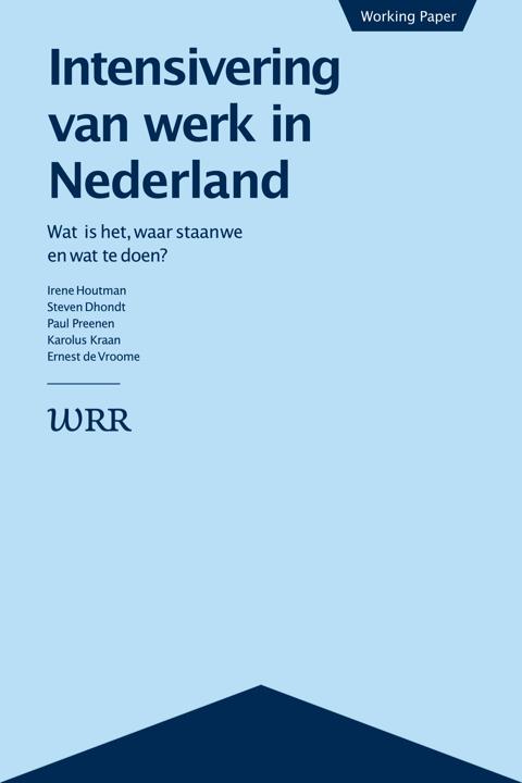 Intensivering van werk in NL