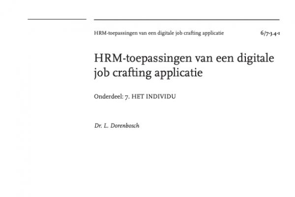 HRM Toepassingen